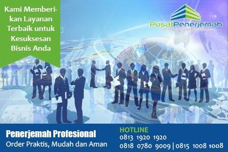 Penerjemah Profesional Jakarta